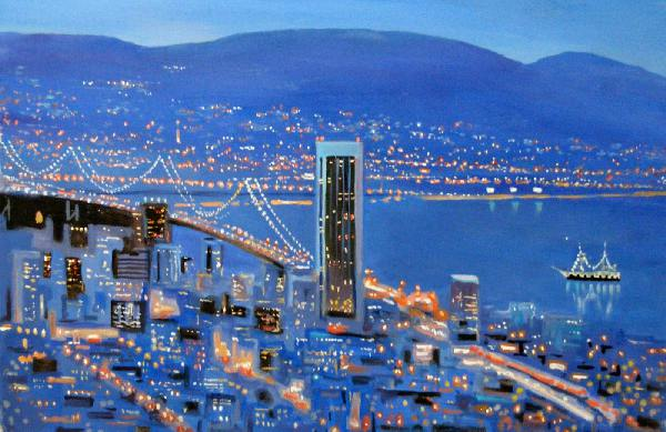 Golden Gate, San Francisco, San Francisco painting