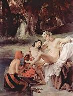 Bathsheba at her bath, 1834