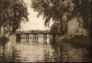 Newnham bridge on the lesser ouse, early 20th century