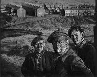 Three generations of Welsh miners, 1950